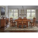 AAmerica Mission Hill Formal Dining Room Group - Item Number: MIH Dining Room Group 1