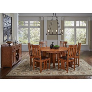 AAmerica Mission Hill Formal Dining Room Group