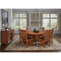 AAmerica Mission Hill Formal Dining Room Group - Item Number: MIH Dining Room Group 2
