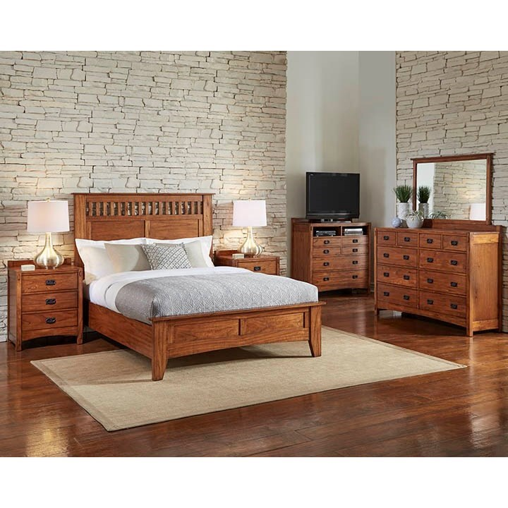 AAmerica Mission Hill Queen Bedroom Group - Item Number: MIH Q Bedroom Group 2