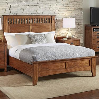 AAmerica Mission Hill Queen Panel Bed - Item Number: MIH-HA-5-03-0