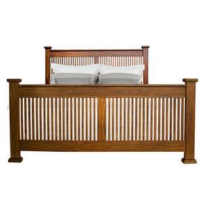 AAmerica Standard Mission King Slat Bed