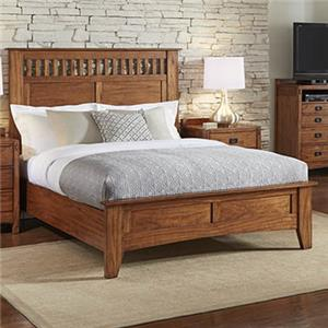 AAmerica Mission Hill California King Panel Bed