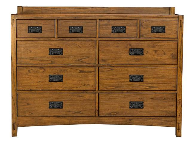 AAmerica Mission Hill Drawer Dresser - Item Number: MIH-HA-5-50-0