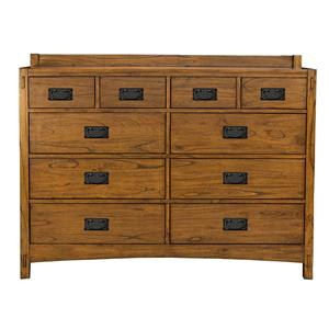 AAmerica Mission Hill Drawer Dresser