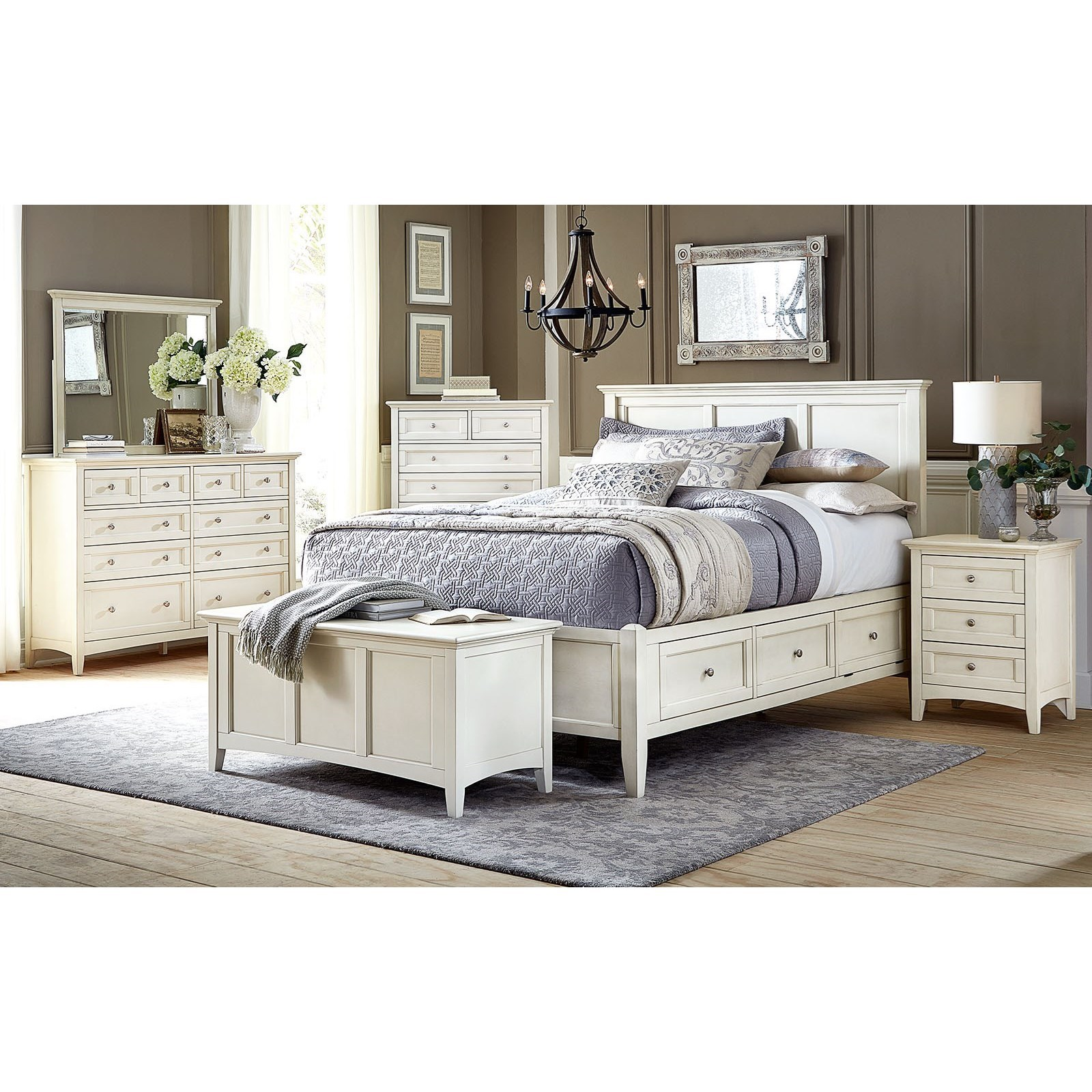 Northlake Queen Bedroom Group by AAmerica at Wilson's Furniture
