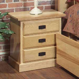AAmerica Amish Highlands Nightstand