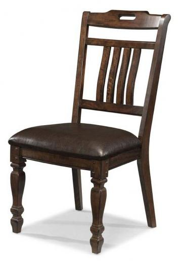 AAmerica Phinney Ridge Estate Slat Back Side Chair - Item Number: PHI-MI-2-35-K