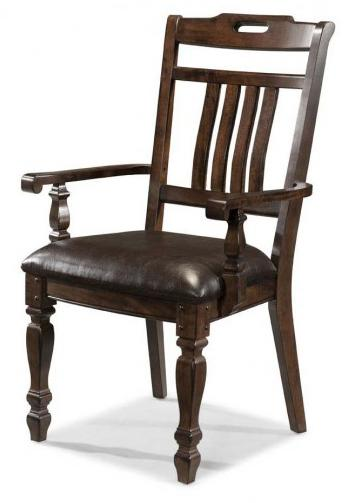 AAmerica Phinney Ridge Estate Slat Back Arm Chair - Item Number: PHI-MI-2-36-K