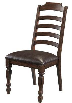 AAmerica Phinney Ridge Ladder Back Side Chair - Item Number: PHI-MI-2-45-K