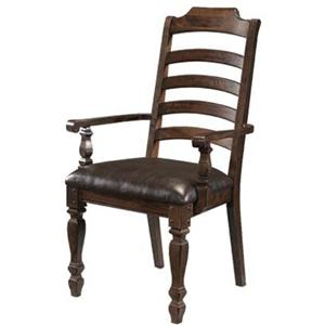 AAmerica Phinney Ridge Ladder Back Arm Chair