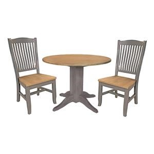 42 Inch Round Table and 2 Chairs