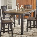 AAmerica Port Townsend Gathering Height Leg Table - Item Number: POT-SP-6-70-0
