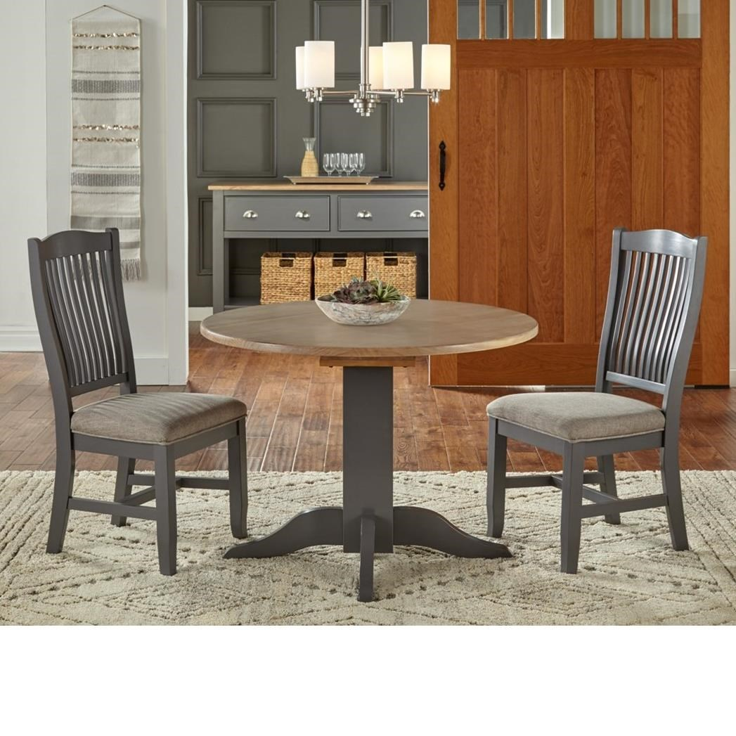 Port Townsend 3 Pc Table Set by AAmerica at Dinette Depot