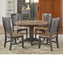 AAmerica Port Townsend 5 Pc Table Set - Item Number: SP-625+4X265