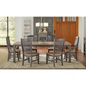 AAmerica Port Townsend 7 Pc Table Set - Item Number: SP-630+4X265+2X266