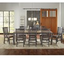 AAmerica Port Townsend 9 Pc Table Set - Item Number: SP-630+6X245+2X246