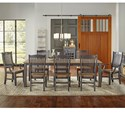 AAmerica Port Townsend 9 Pc Table Set - Item Number: SP-630+6X265+2X266