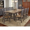 AAmerica Port Townsend 9 Pc Table Set - Item Number: SP-631+6X265+2X266