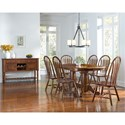 AAmerica Roanoke Casual Dining Room Group - Item Number: ROA-MO Dining Room Group 4