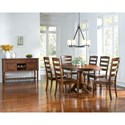 AAmerica Roanoke Casual Dining Room Group - Item Number: ROA-MO Dining Room Group 5
