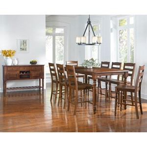 AAmerica Roanoke Casual Dining Room Group