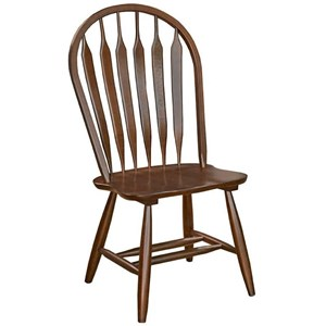 AAmerica Roanoke Arrowback Side Chair