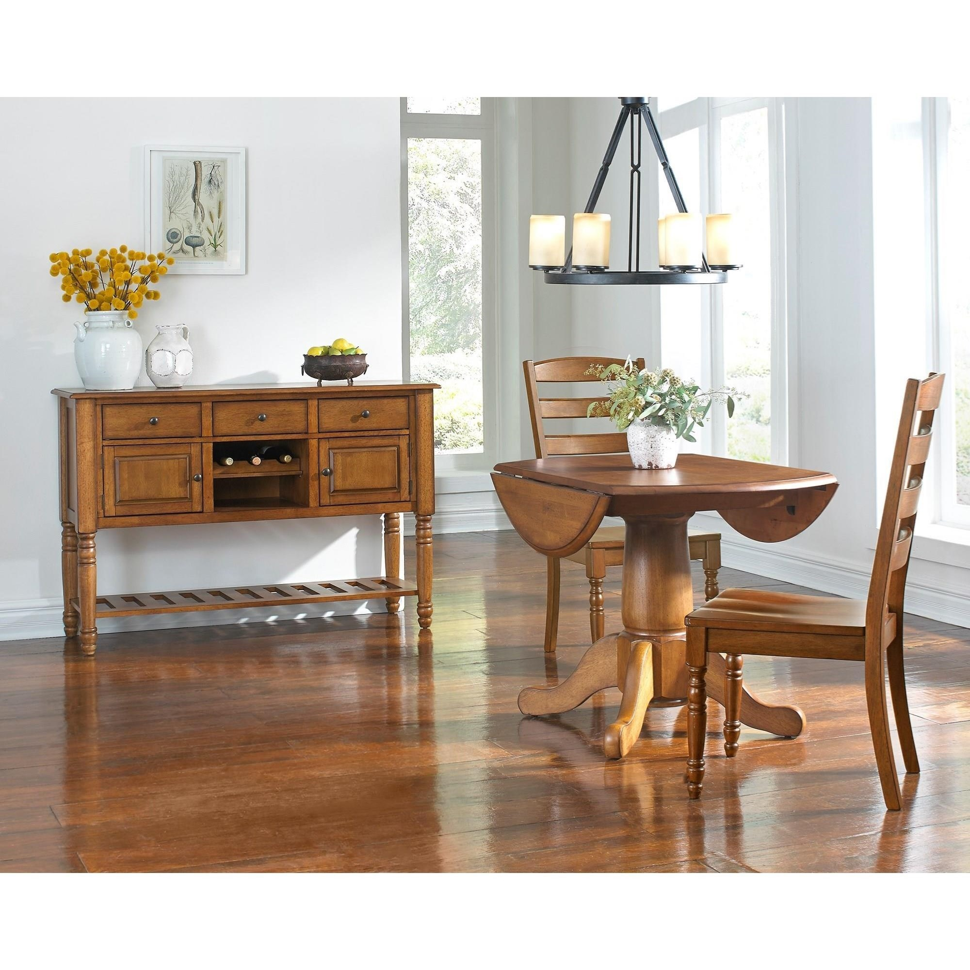 AAmerica Roanoke Casual Dining Room Group - Item Number: ROA-RH Dining Room Group 1