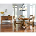 AAmerica Roanoke Casual Dining Room Group - Item Number: ROA-RH Dining Room Group 3