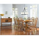 AAmerica Roanoke Casual Dining Room Group - Item Number: ROA-RH Dining Room Group 4