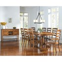 AAmerica Roanoke Casual Dining Room Group - Item Number: ROA-RH Dining Room Group 6