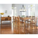 AAmerica Roanoke Casual Dining Room Group - Item Number: ROA-RH Dining Room Group 7