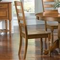 AAmerica Roanoke Ladderback Chair - Item Number: ROA-RH-2-55-K