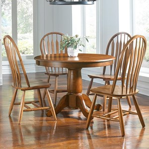 AAmerica Roanoke 5 Piece Dining Set