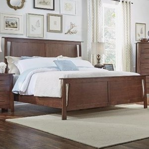 AAmerica Sodo Queen Panel Bed