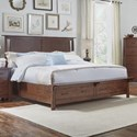 AAmerica Sodo Queen Panel Storage Bed - Item Number: SOD-WB-5-03-1