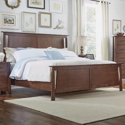 California King Panel Bed