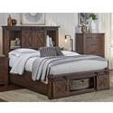 AAmerica Sun Valley Queen Bed - Item Number: SUV-RT-5-03-2