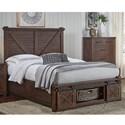 AAmerica Sun Valley Queen Bed - Item Number: SUV-RT-5-09-2