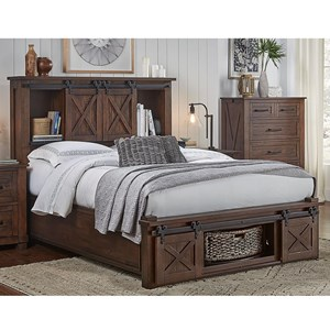 King Bed with Rotating Storage