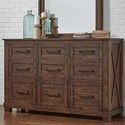 AAmerica Sun Valley Dresser - Item Number: SUV-RT-5-51-0