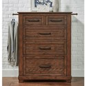 AAmerica Sun Valley Chest of Drawers - Item Number: SUV-RT-5-60-0
