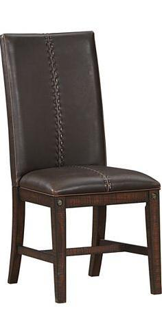 AAmerica The Plains Parson Side Chair - Item Number: SDN-RM-2-69-K