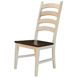 AAmerica Toluca Ladderback Side Chair