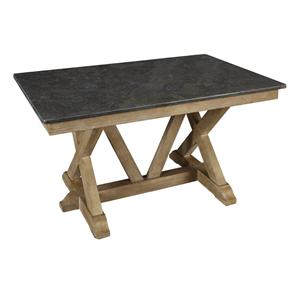 AAmerica West Valley Trestle Dining Table