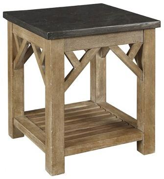 AAmerica West Valley End Table with Shelf - Item Number: WVA-RW-7-01-0