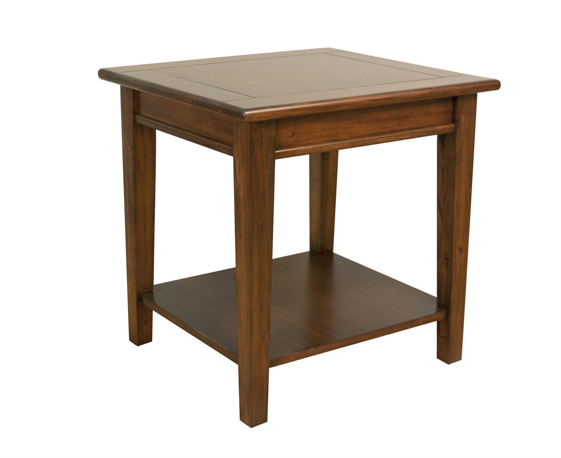Aamerica Westlake End Table With Shelf Van Hill