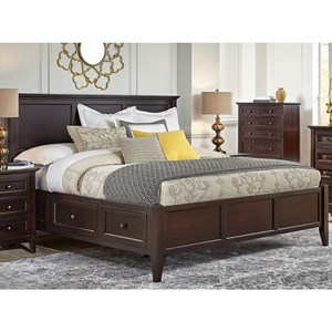 California King Storage Bed