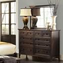 AAmerica Westlake Dresser and Mirror - Item Number: WSL-DM-5-51-0+56-0