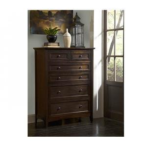 AAmerica Westlake Solid Mahogany 6-Drawer Chest